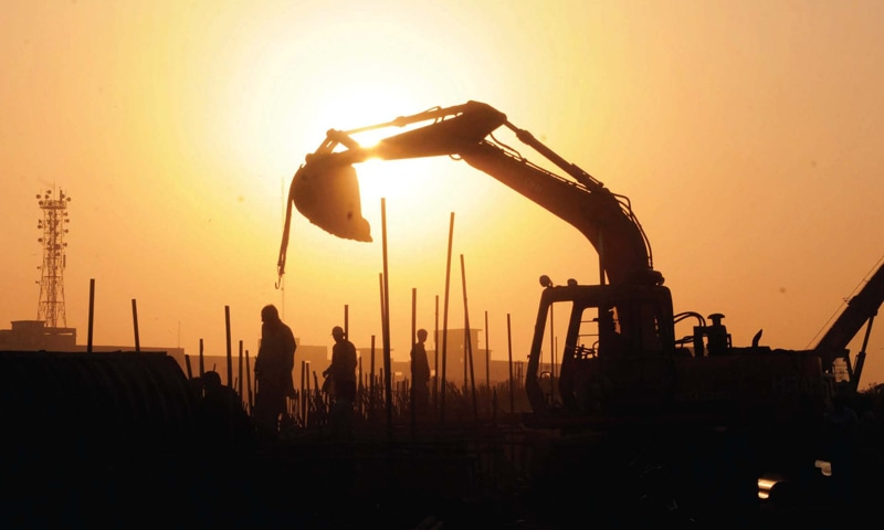 The project is being launched by a powerful business tycoon on a piece of land measuring about 17 kanals at China Chowk (Racecourse Road), in the vicinity of important buildings. — AFP/File