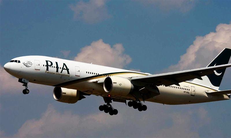 عالمی مالیاتی ادارے ورلڈ بینک نے پی آئی اے کے طیارے کو چارٹرڈ کیا تھا، بعدازاں طیارہ اسلام آباد واپس آگیا—فائل فوٹو: اے پی پی