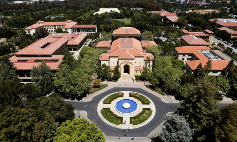 Stanford University's campus is seen from atop Hoover Tower in Stanford, California, US on May 9, 2014. — Reuters/File