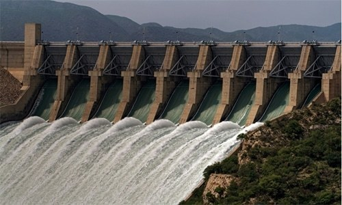 According to a spokesperson, the increased share of hydel power in the national grid is mainly due to maximum power generation from Tarbela and Tarbela 4th extension hydel power stations. — Koh Mari/File
