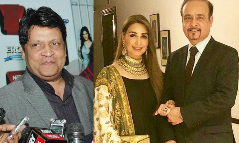 عمر شریف کے علاج کیلئے کردار ادا کرنے پر ریما خان شوہر کی مشکور