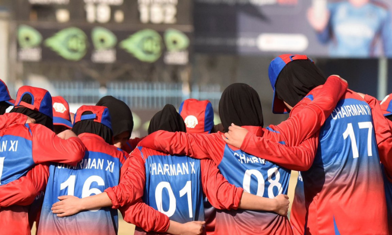The Afghanistan Cricket Board (ACB) chairman said he was still awaiting instructions from the government on the future of women's cricket. — Photo courtesy ACB Twitter