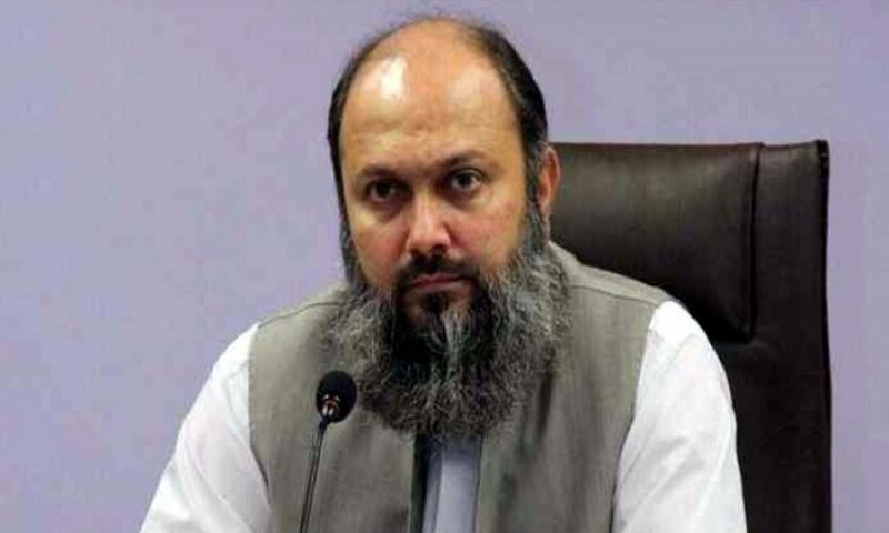 The no-confidence motion stated that Balochistan Chief Minister Jam Kamal Khan Alyani had violated Articles 37 and 38 of the Constitution. — APP/File