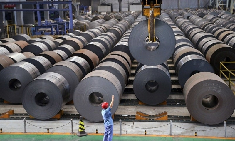 H/CR sheets/strips, coils/plates, also known as flat steel products for production of electronics, surged to 3.296m tonnes in FY21 from 1.850m tonnes in FY12. — Reuters/File