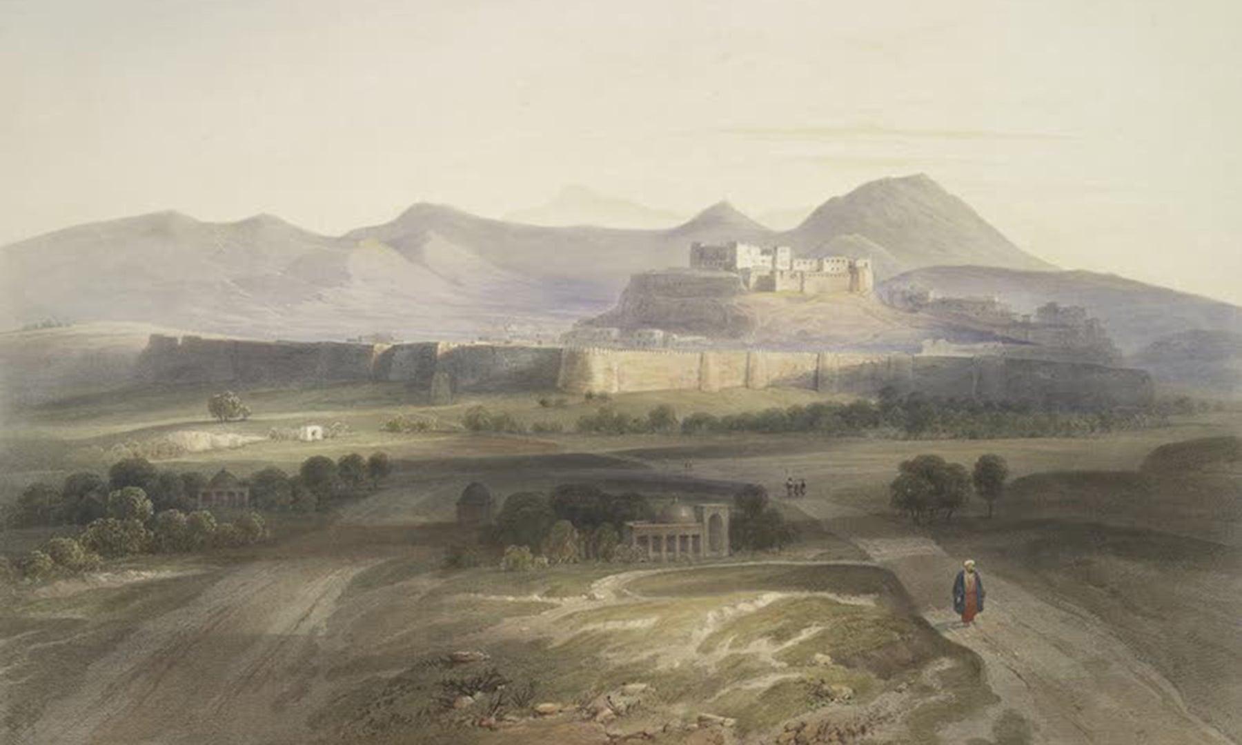 شہر و قلعہ غزنی