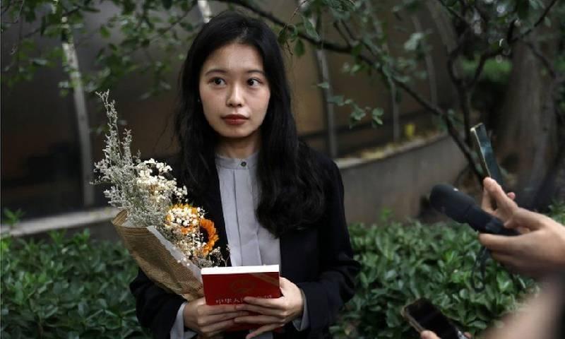چین میں 'می ٹو' مہم شروع کرنے والی خاتون کے جنسی ہراسانی کیس کا فیصلہ سنادیا گیا