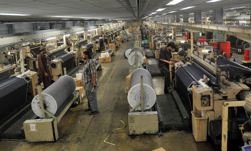 On a month-on-month basis, the big industry production contracted by 4.91pc. — AFP/File