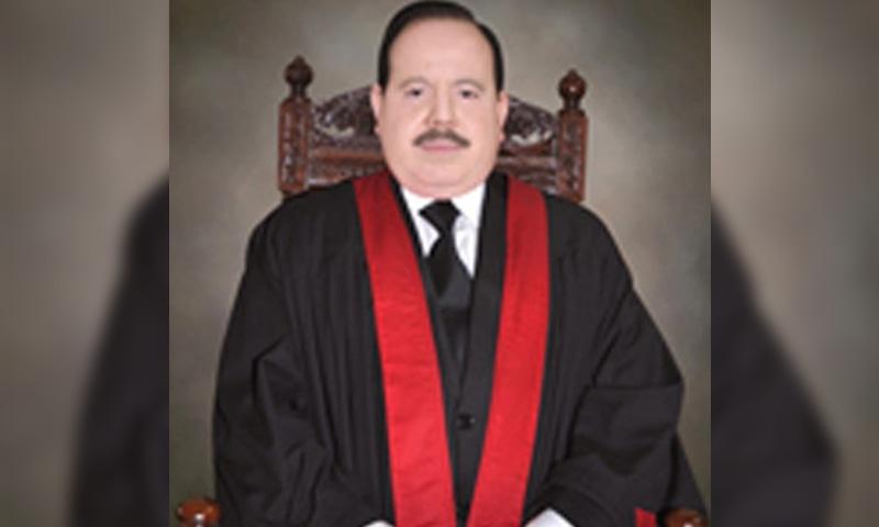 A file photo of Justice Sardar Tariq Masood. — Photo courtesy Supreme Court of Pakistan website/File