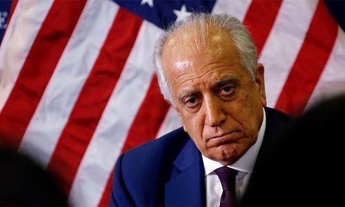 This file photo shows Zalmay Khalilzad. ─ Reuters/File