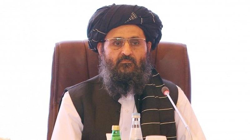 عبدالغنی برادر اس وقت افغانستان کے نائب وزیر اعظم ہیں—فائل فوٹو: اے ایف پی