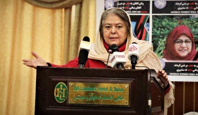 افغان صحافی و سماجی رہنما محبوبا سراج بھی فہرست کا حصہ ہیں—فائل فوٹو: ٹوئٹر