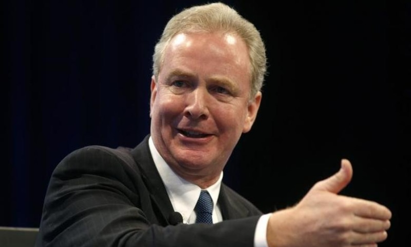 """US Representative Chris Van Hollen speaks during a session called """"The New Congress"""" at the Wall Street Journal's CEO Council meeting in Washington, US on December 2, 2014. — Reuters/File"""
