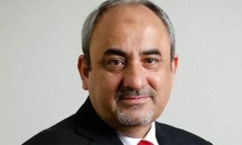 وزیراعظم کے معاون خصوصی برائے سی پیک خالد منصور نے اراکین کو تفصیلی بریفنگ دی— فائل فوٹو: اے پی پی