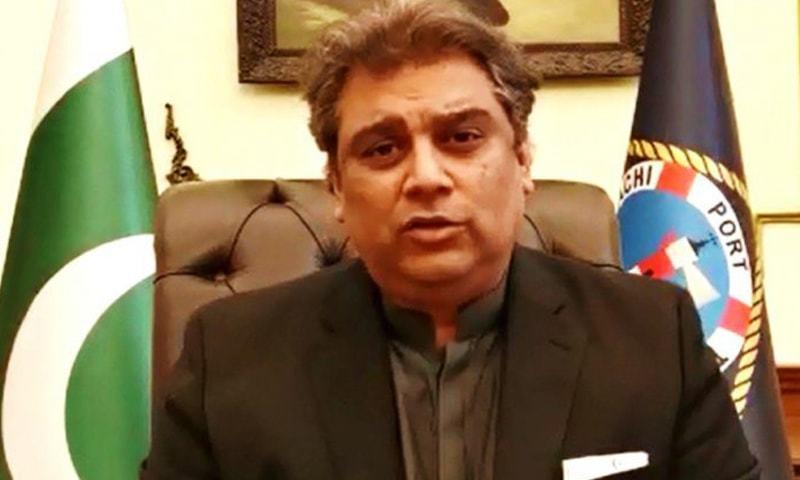 A file photo of Minister for Maritime Affairs Syed Ali Zaidi. — APP/File