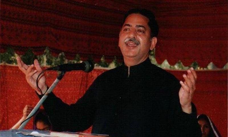 A file photo of PML-N MNA Javed Latif. — Photo courtesy Javed Latif Facebook/File