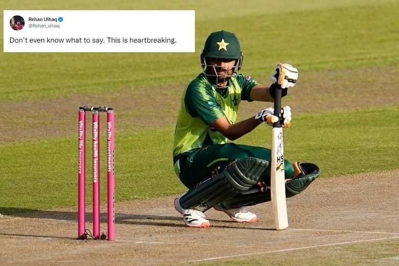 Babar Azam is seen during the third T20 between England and Pakistan at the Old Trafford, Manchester on Sept 1, 2020. — Reuterts/File
