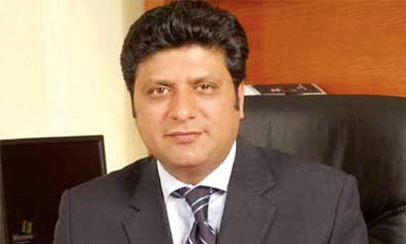 A file photo of National Database and Registration Authority chief Tariq Malik. — Dawn/File