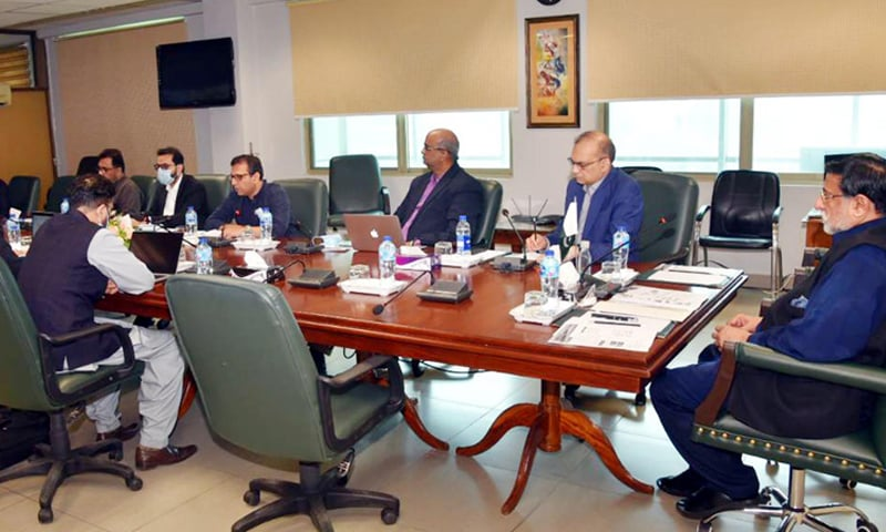 This picture shows a roadshow held for the revival of Pakistan Steel Mills in Islamabad on Friday. — Photo courtesy PID website