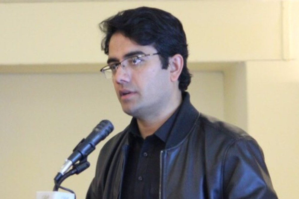 A file photo of Special Assistant to the KP Chief Minister on Higher Education Kamran Khan Bangash. — Photo courtesy Twitter/File