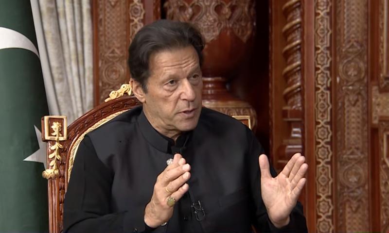 وزیر اعظم عمران خان نے کہا کہ جامع حکومت کے قیام تک افغانستان میں عدم استحکام رہے گا— فوٹو: ڈان نیوز