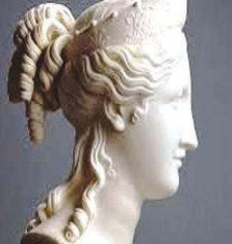 Sculpture of Napoleon's sister Paolina Bonaparte Borghese