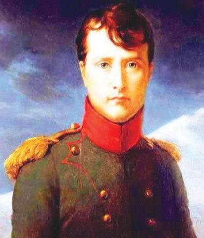 Portrait of Napoleon Bonaparte by Francois Gerard