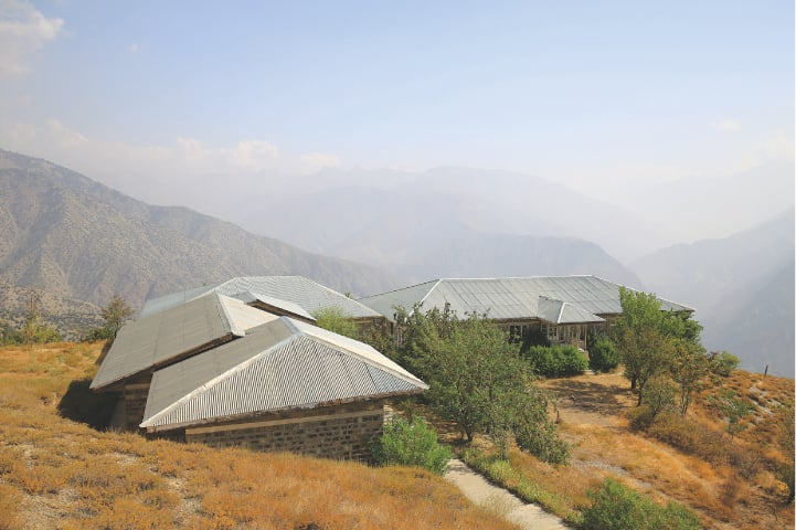 Above and right: Views of the tourists' chalets of the PTDC motel in Birmogh Lasht | Photos by the writer