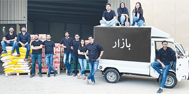 The Bazaar team smiles for the camera | Courtesy Bazaar
