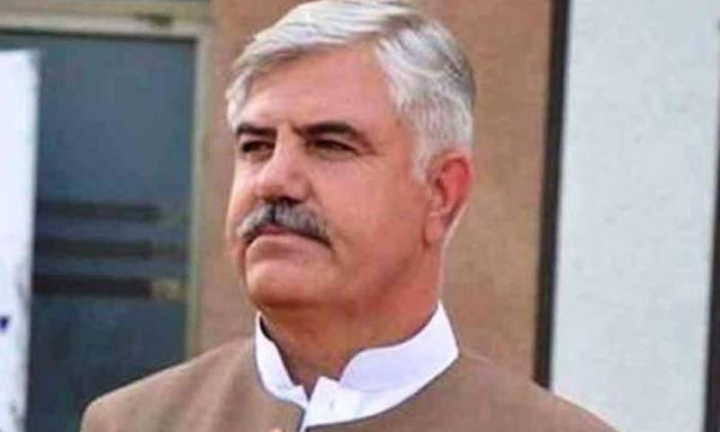 Chief Minister Mahmood Khan said the project was of vital importance for irrigating agricultural lands in Peshawar and Nowshera districts. — APP/File