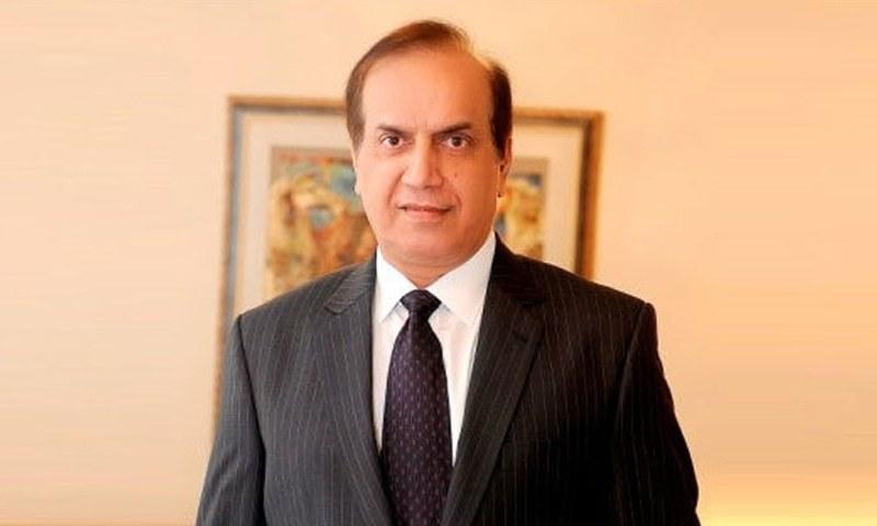 A file photo of Sindh Energy Minister Imtiaz Ahmed Shaikh. — Photo courtesy Radio Pakistan/File