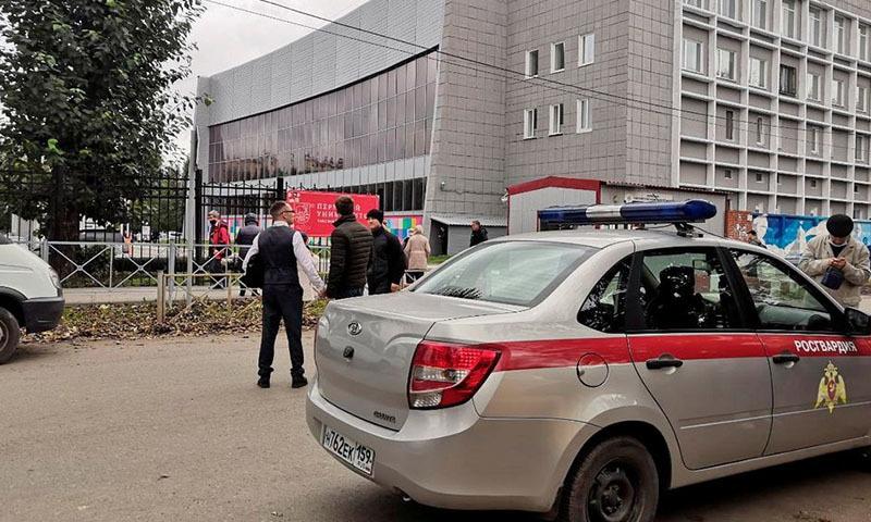 روس کی یونیورسٹی میں طالبعلم کی فائرنگ سے 8 افراد ہلاک