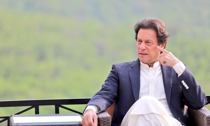 A file photo of Prime Minister Imran Khan. — APP/File