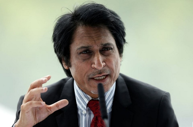 In this file photo, Ramiz Raja speaks during the MCC World Cricket committee press conference on July 4, 2017. — Reuters/File