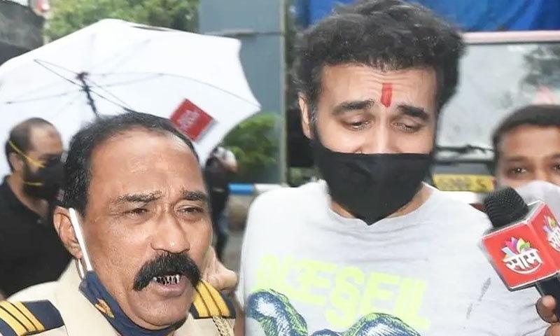 راج کندرا کو 21 ستمبر کو جیل سے رہا کیا گیا—فوٹو: ٹوئٹر