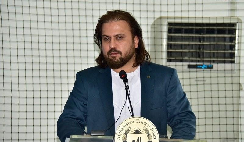 افغانستان کرکٹ بورڈ کے نئے چیئرمین عزیزاللہ فضلی نے کہا کہ ون ڈے سیریز کے لیے پاکستان ٹیم کو دورے کی دعوت دیں گے— فوٹو بشکریہ افغان کرکٹ بورڈ
