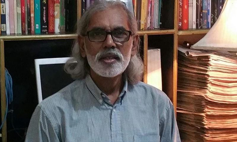 سینئر صحافی وارث رضا اس وقت اردو روزنامہ ایکسپریس کے لیے بحیثیت کالم نگار کام کر رہے ہیں— فوٹو: ٹوئٹر