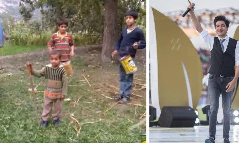 شہزاد رائے نے 'ٹین ڈبوں' سے موسیقی بجانے والے بچوں کو آلات فراہم کردیے