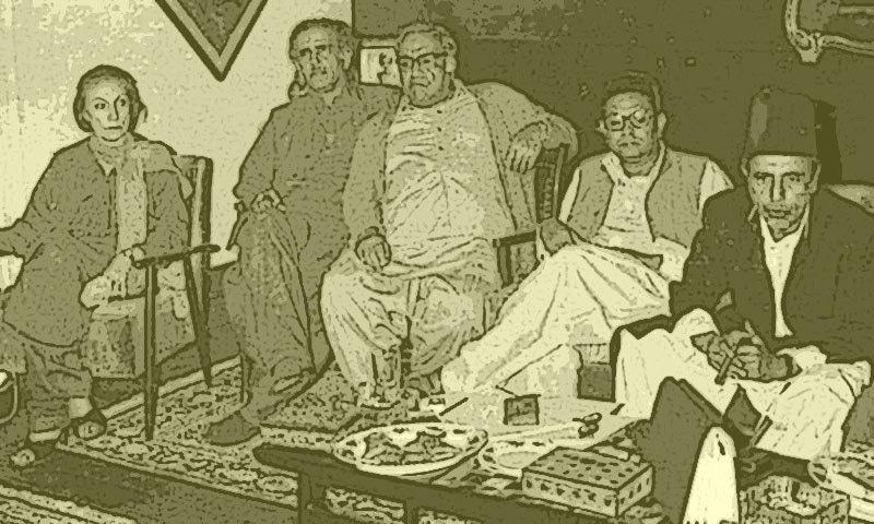 بیگم نصرت بھٹو، اے آر مارشل خان اور سردار شیرباز مزاری کو ایک میز پر بٹھانے کا ناقابلِ یقین کارنامہ بھی نوابزادہ صاحب نے انجام دیا
