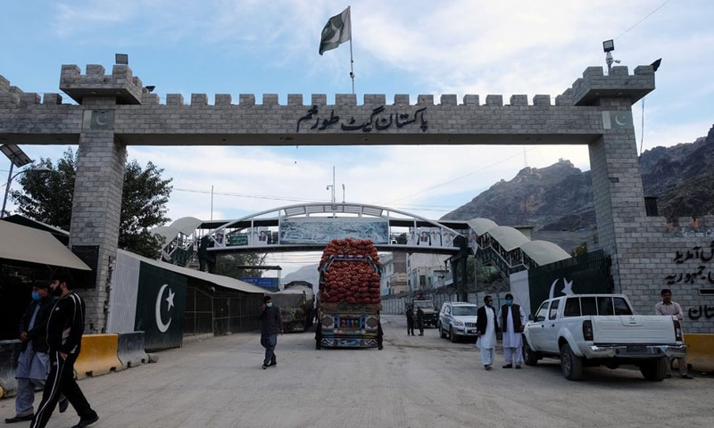This file photo shows a  general view of the border post in Torkham, Pakistan. — Reuters/File