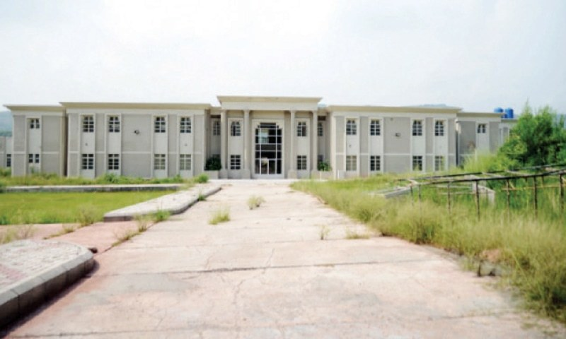 Mera Begwal Technical College — built in 1989 — was renovated in 2013 but classes have still not been started. — File photo