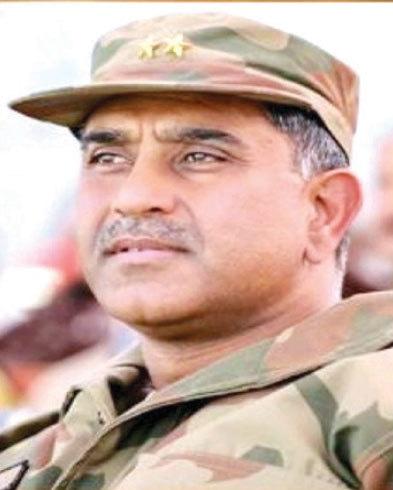 Retired Lt Gen Ishfaq Nadeem Ahmed