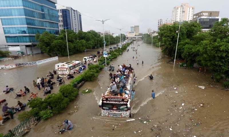 سندھ میں 28 ستمبر سے بارش کی پیش گوئی، کراچی میں سیلابی صورتحال کی وارننگ