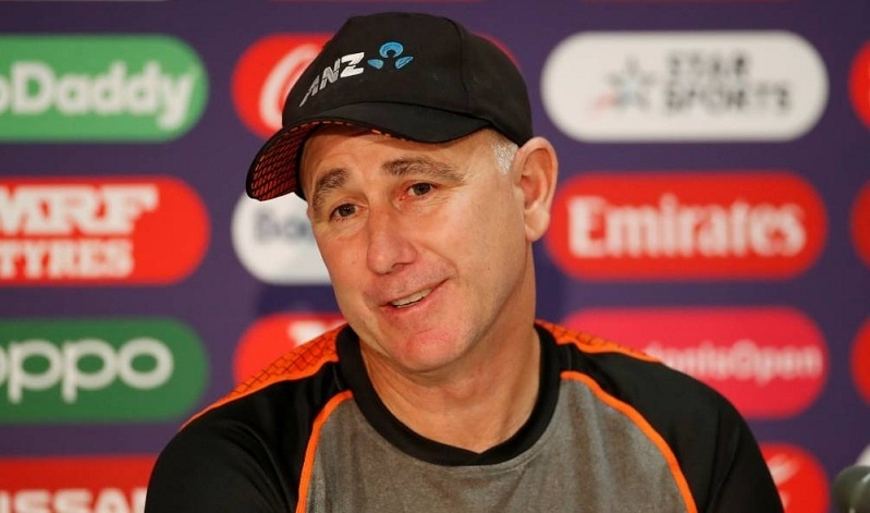 In this file photo, New Zealand coach  Gary Stead speaks during a press conference. — Reuters/File