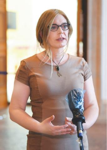 Tessa Ganserer.—Reuters
