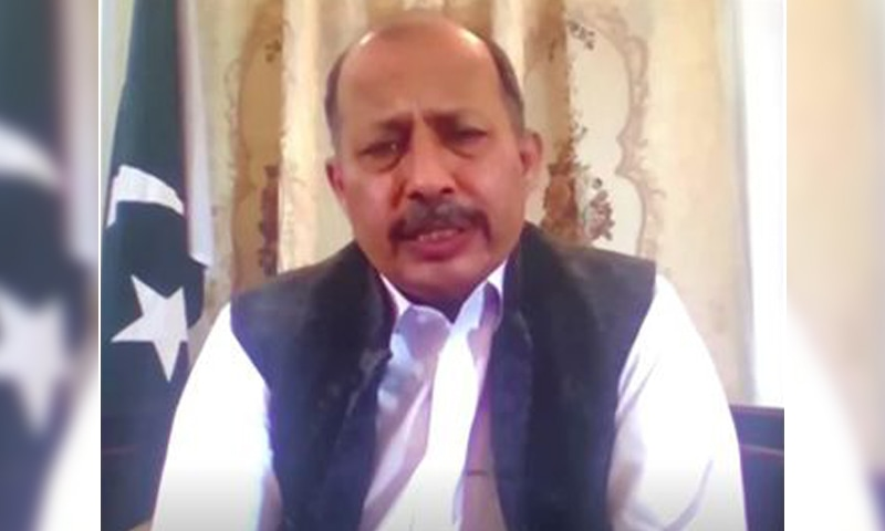 Pakistan's Ambassador to Afghanistan, Mansoor Ahmad Khan, speaks during an interview with Reuters in this screen grab taken from a video. — Reuters