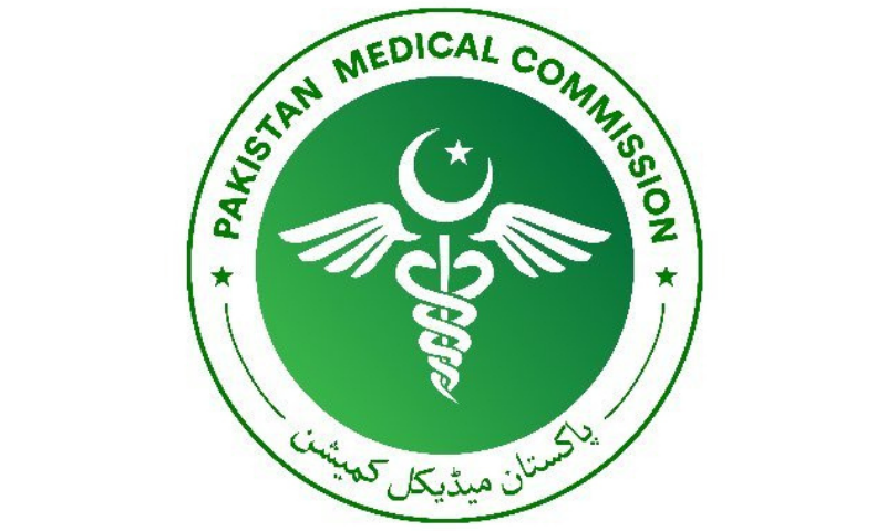 The Pakistan Medical Commission on Monday issued a statement to defend allegations against it. PMC Twitter/File