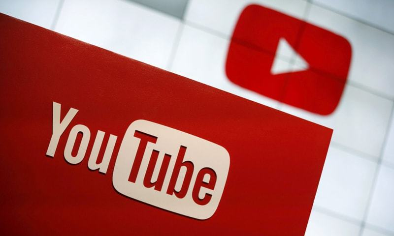 A YouTube logo seen at the YouTube Space LA in Playa Del Rey, Los Angeles, California, United States. — Reuters/File