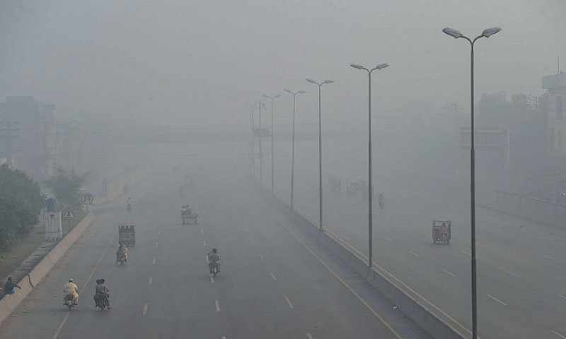 Smog starts blanketing the city lowering visibility and causing breathing issues. — White Star