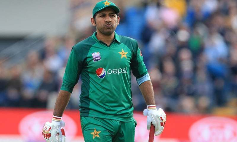 Former captain Sarfaraz Ahmed has replaced Azam Khan in the T20 World Cup squad. — AFP/File