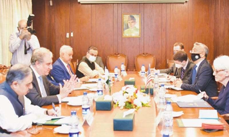 پاکستان کے ساتھ دہشت گردی کے خلاف مذاکرات جاری رہیں گے، امریکا